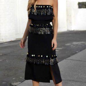 Prem the Label Gladiator Midi Dress